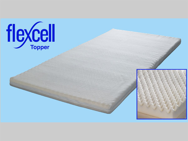 the flexcell memory foam mattress are the most versatile toppers on the market and are available in 4cm or a full 6cm option more info